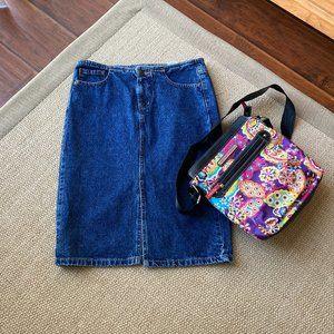 Mossimo Denim Pencil  Skirt 5